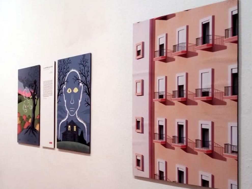 La sala de exposiciones de la Casa de Cultura exhibe 'La casa que nos habita'