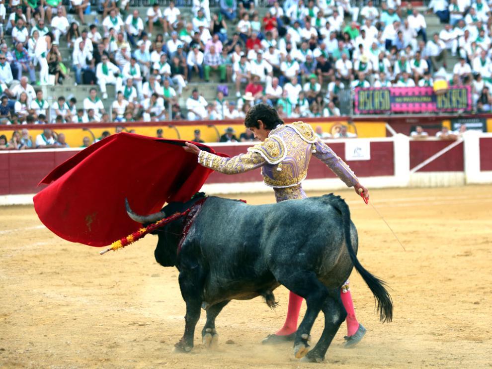 Sebastián Castella en la Feria Taurina de San Lorenzo 2019