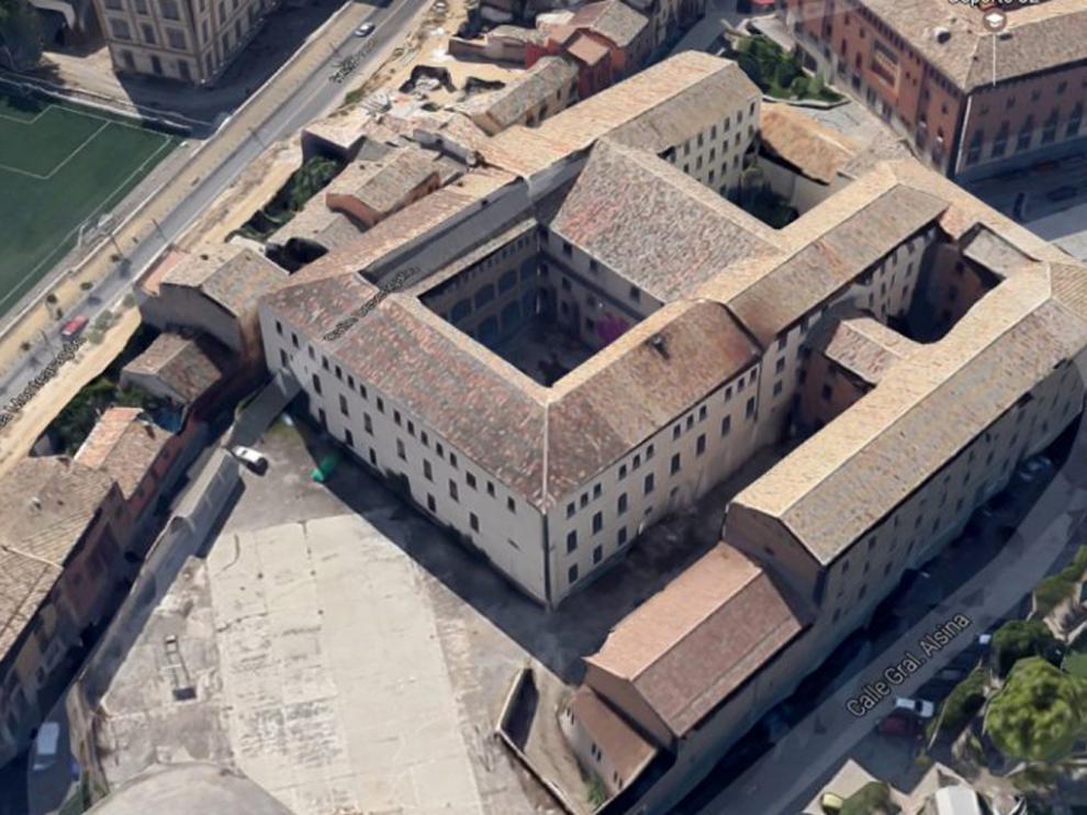 Vista del antiguo seminario de Huesca