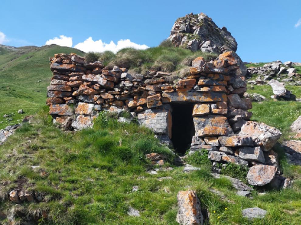 Caseta de pastor que se podrá visitar en una ruta guiada este verano.