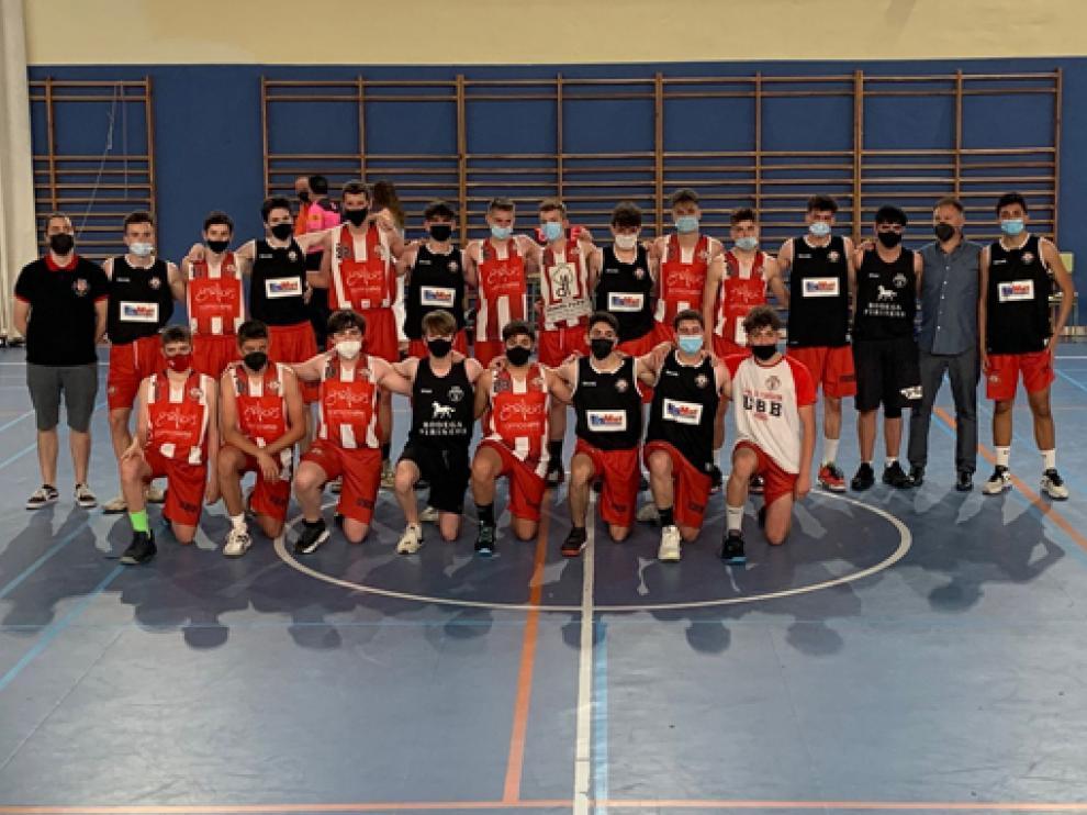Gráficas Somos Uno UB Barbastro y Kafka Café del Vero UB Barbastro jugaron la final cadete.
