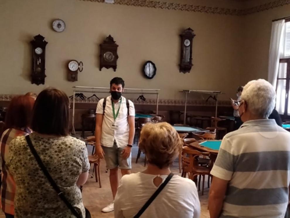 Imagen de una de las visitas guiadas