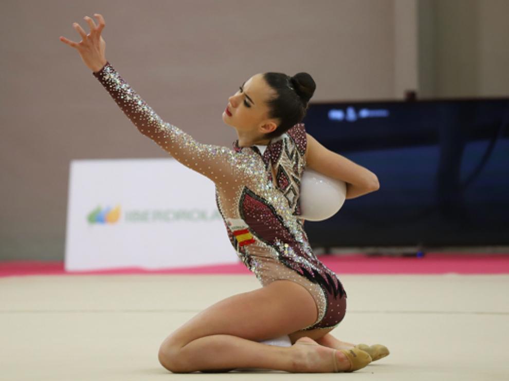 Inés Bergua sueña con participar en Tokio 2020.