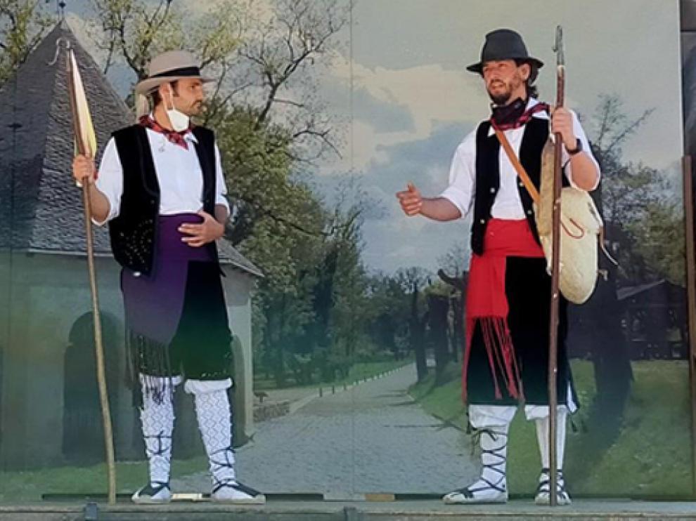 La celebración de la Pastorada se mantuvo en la programación festiva de San Medardo.