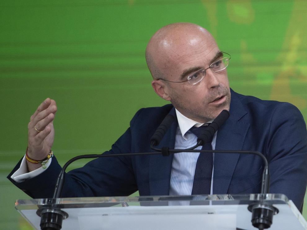 Jorge Buxadé, portavoz de Vox.