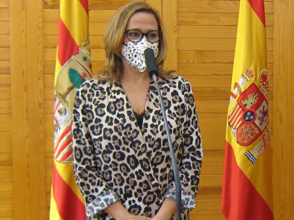 Mayte Pérez, consejera de Presidencia del Gobierno de Aragón