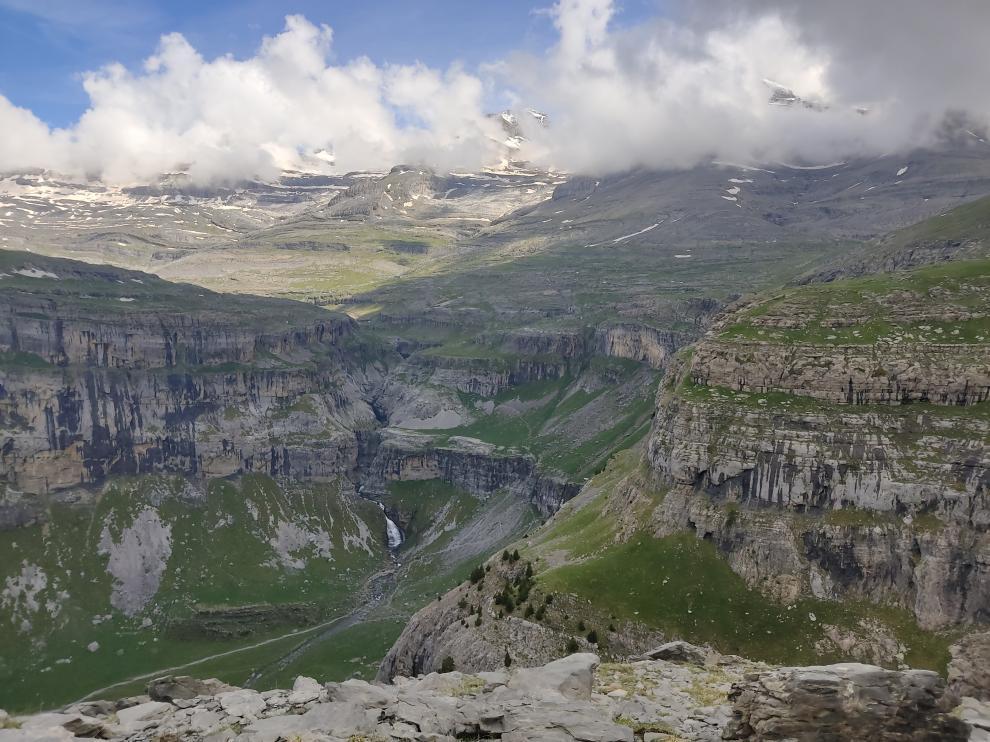 Vista desde Ordesa