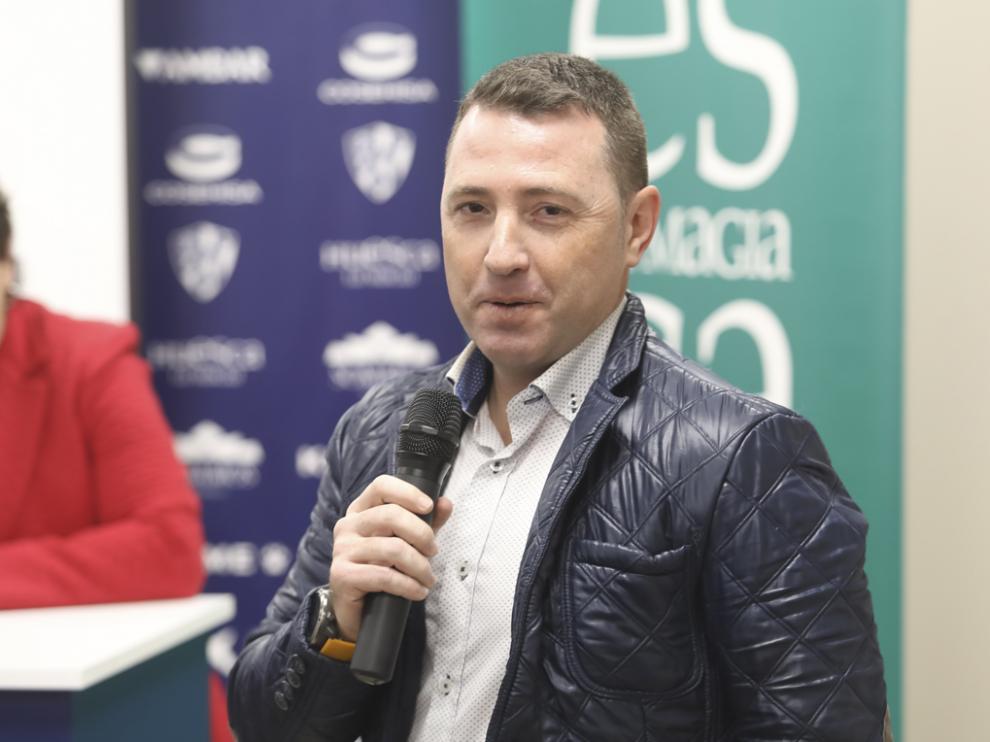 Fernando Blasco, gerente de TuHuesca