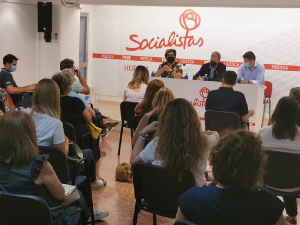 La Comisión Ejecutiva Provincial de los socialistas altoaragoneses se reunió este jueves