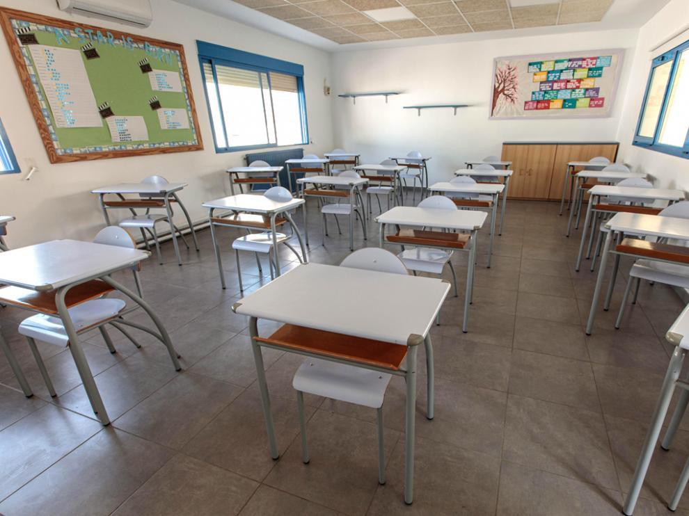 Las aulas cerradas suponen el 0,13% de las clases existentes en toda la Comunidad