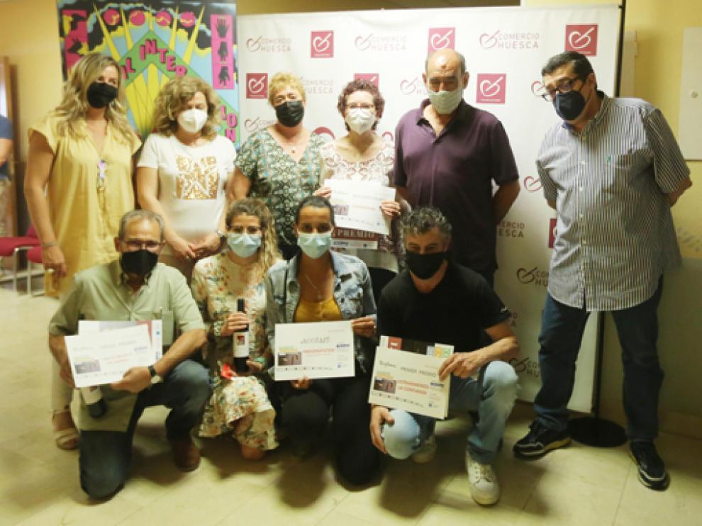 Los premios del concurso de escaparates se entregaron este jueves.