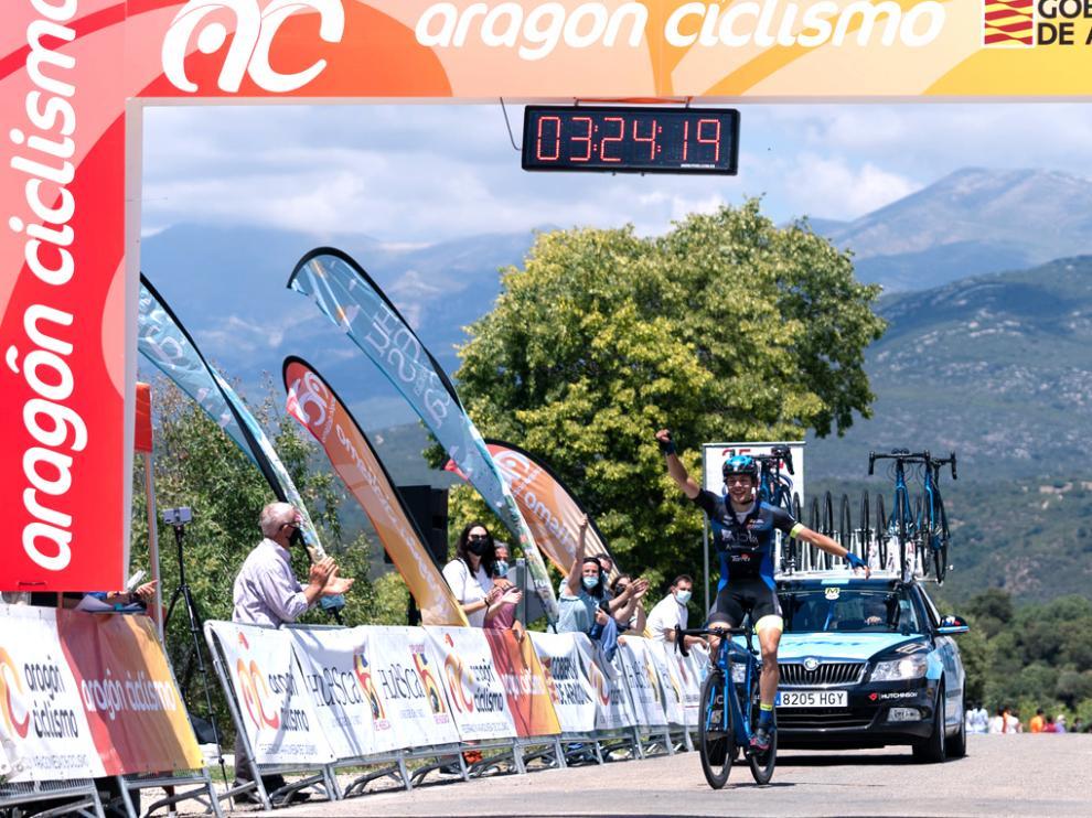 Perry, que ganó la segunda etapa de la Challenge B-Guara, estará hoy en el Memorial Momparler.