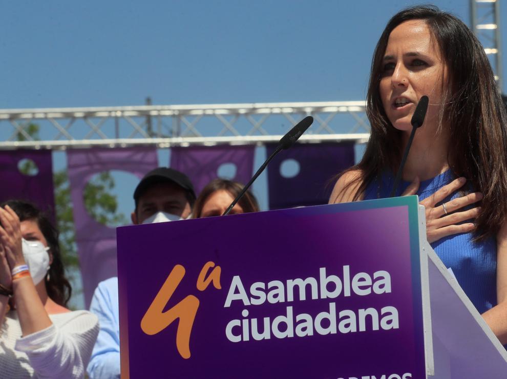 Ione Belarra, nueva líder de Unidas Podemos