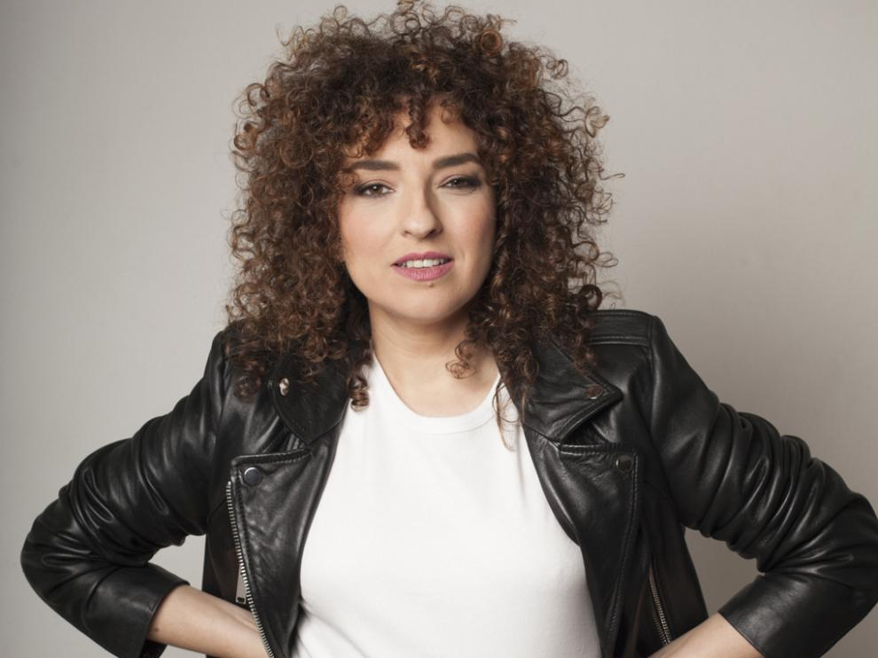 Virginia Riezu actúa la tarde del domingo en Sabiñánigo.