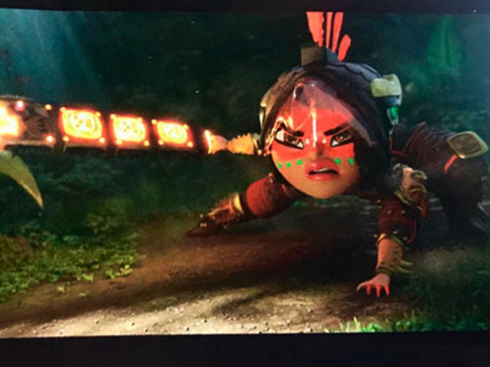 Ya se conocen las primeras imágenes de la serie de animación 'Maya and the Three'.