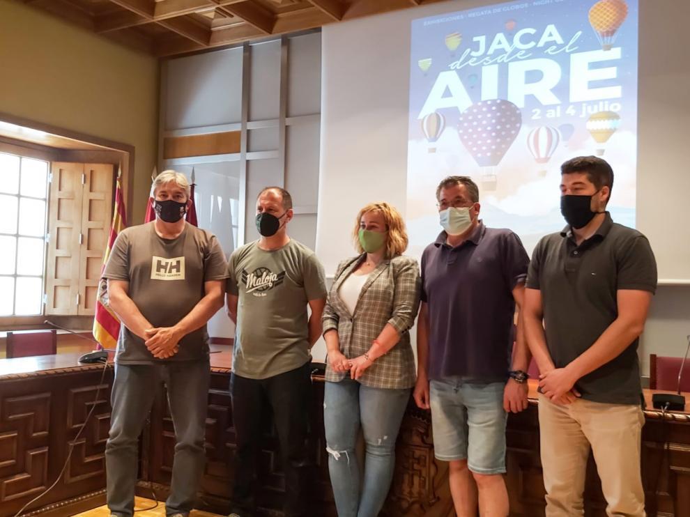 Jaca será el escenario de una concentración de varios globos aerostáticos.