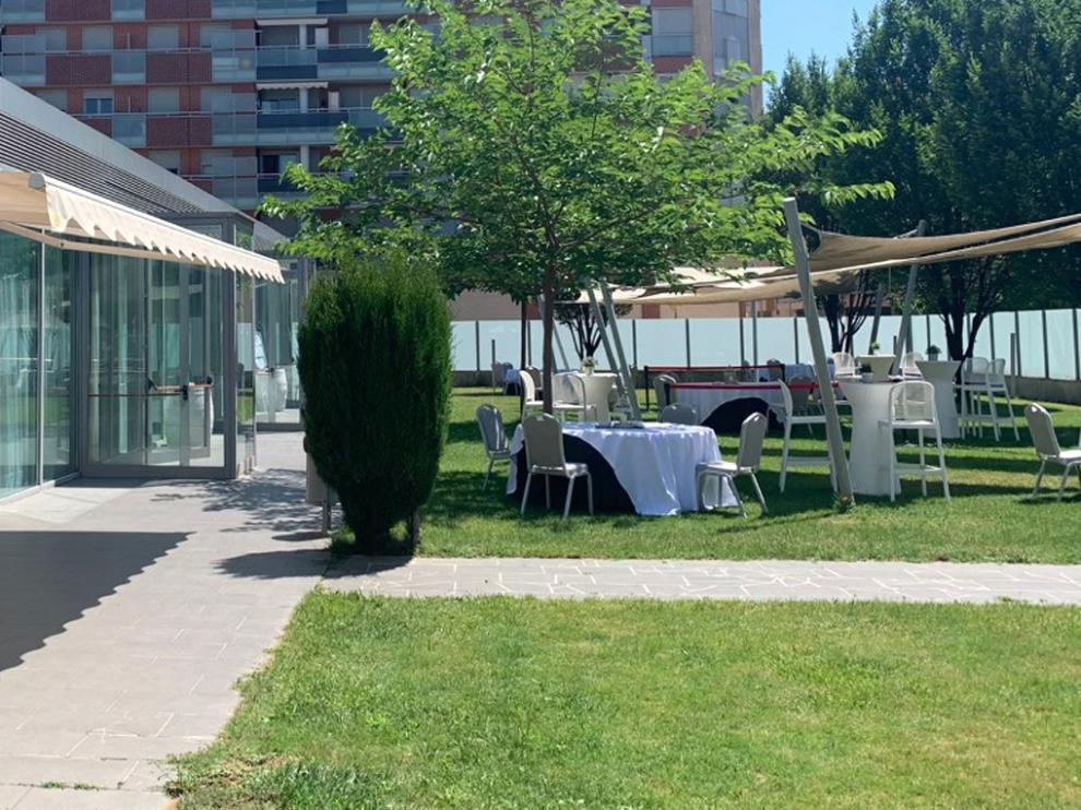 Preparativos para una boda este fin de semana en el Hotel Abba.