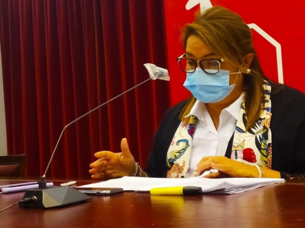 Rosa Serrano en una imagen de archivo.