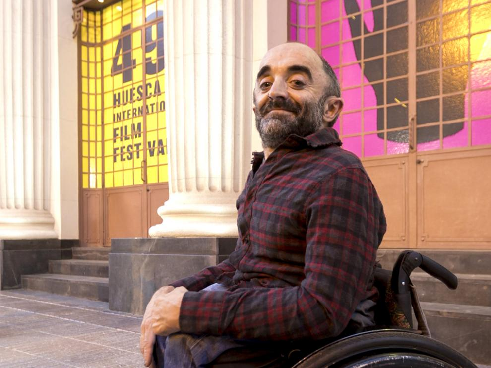 Íñigo Martínez, ante en el Teatro Olimpia.