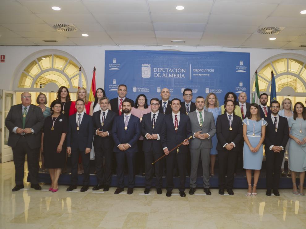 Equipo de Gobierno de la Diputación Provincial de Almería.