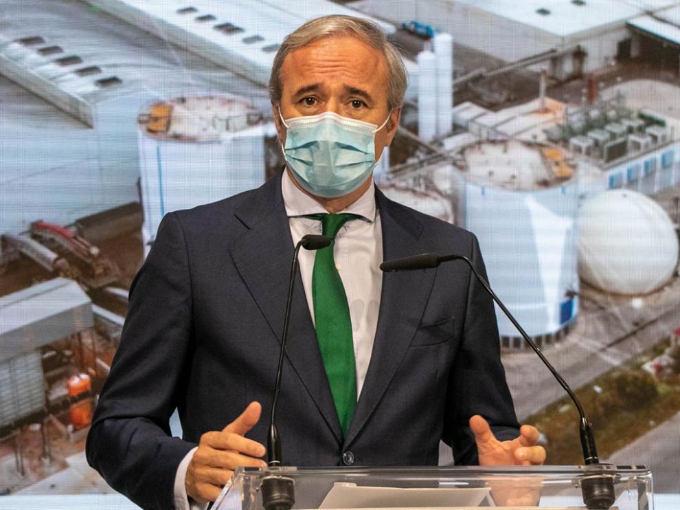 Jorge Azcón, alcalde de Zaragoza