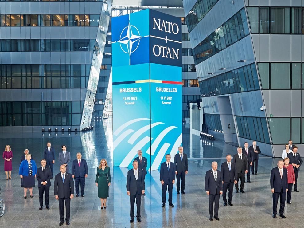Los líderes de la Otan concluyeron ayer su cumbre en Bruselas.