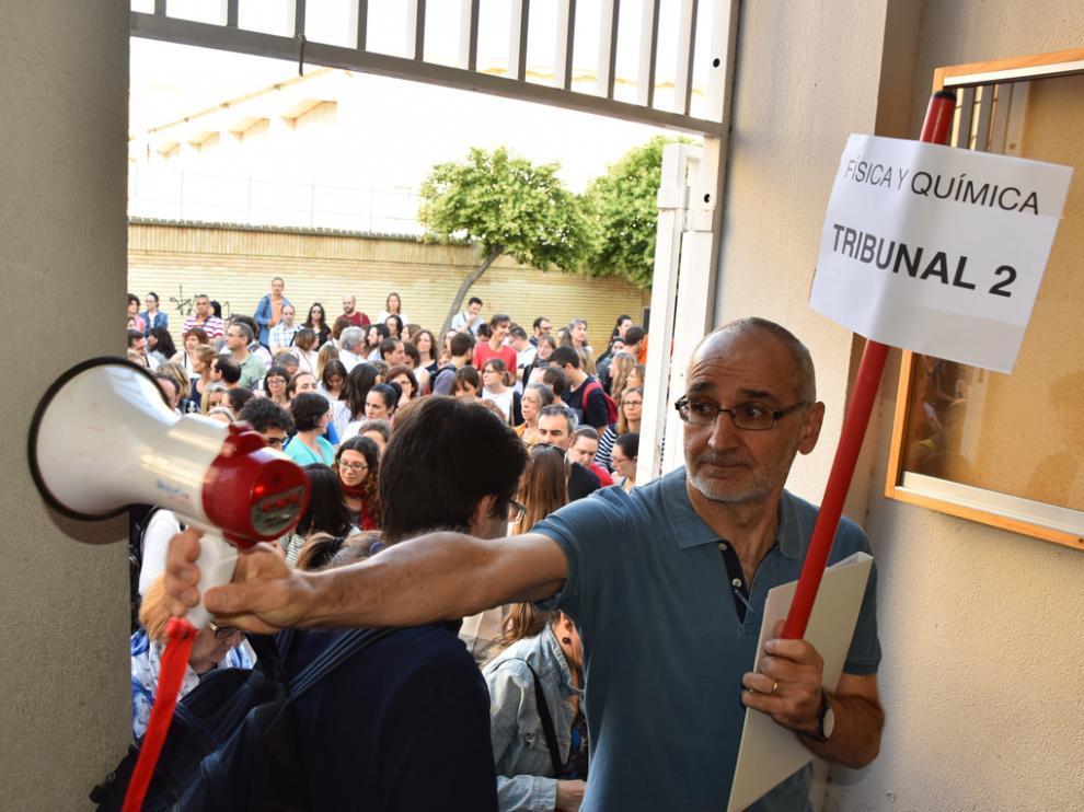 Oposiciones secundaria y FP en el Instituto Ramón y Cajal de Huesca en 2018