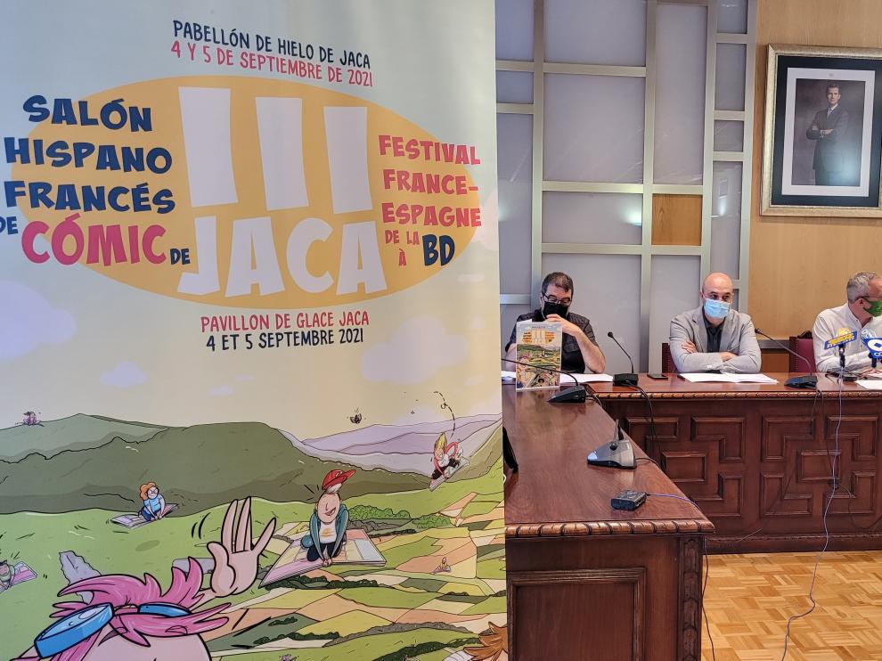 Presentación del Salón del Cómic de Jaca.