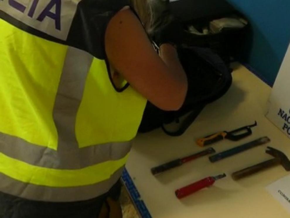 Un Policía Nacional fuera de servicio frustra el robo en un chalet de Jaca
