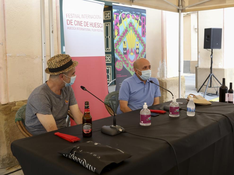 Isidro Ferrer y Luis Alegre han protagonizado en Vermú con...