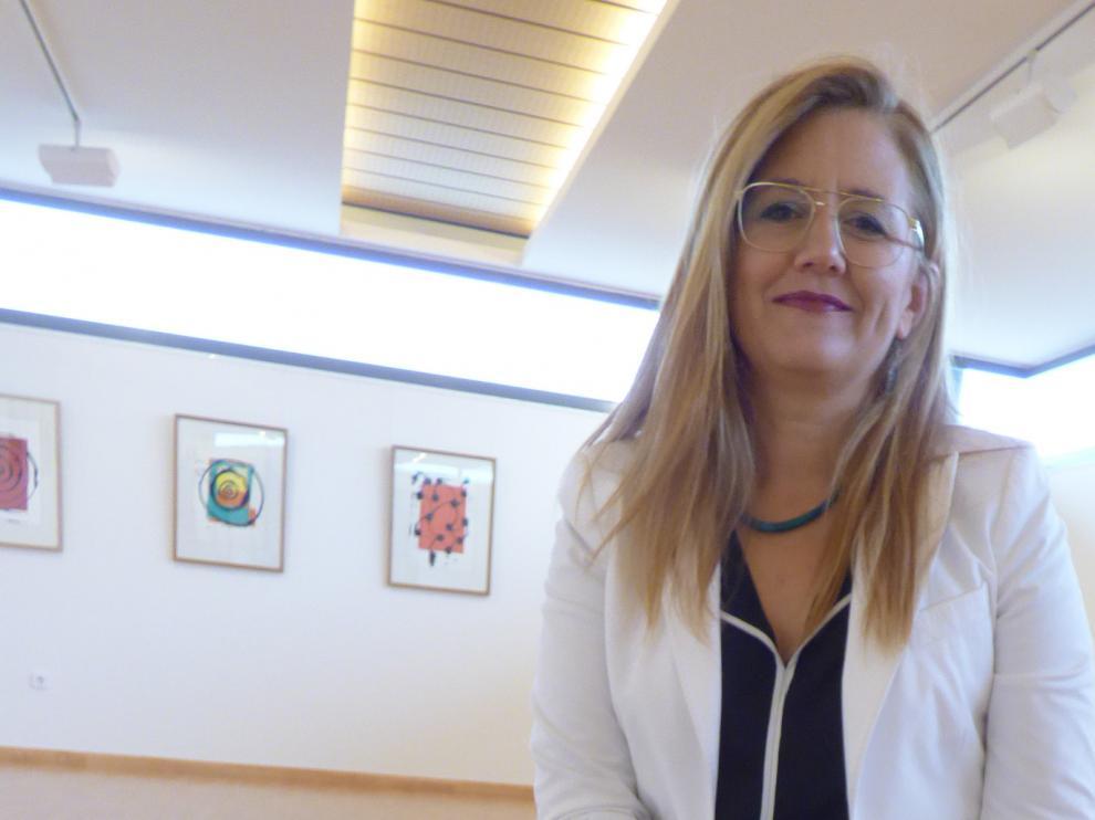 Raquel Latre, presidenta en el Consejo Regulador de la D.O.P. Somontano.