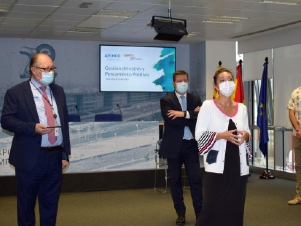 La Corporación Aragonesa de Empresas Públicas, miembro de la red, ha iniciado este jueves un programa de talleres saludables dirigido a los trabajadores del grupo