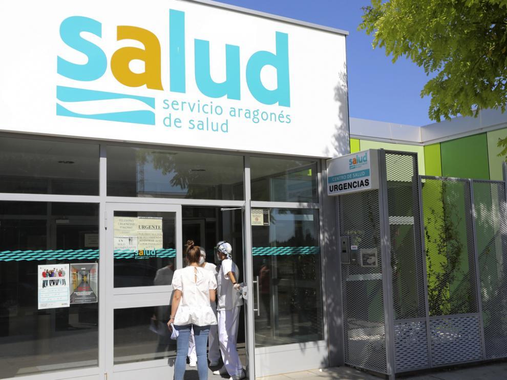 Centro de Salud en Binéfar