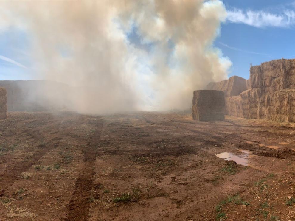 Las llamas han sido sofocadas por el servicio provincial de extinción de incendios