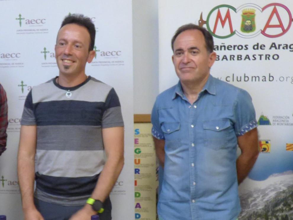 Fernando Latorre y Alejandro Castarlenas realizarán el reto en el día de San Ramón.