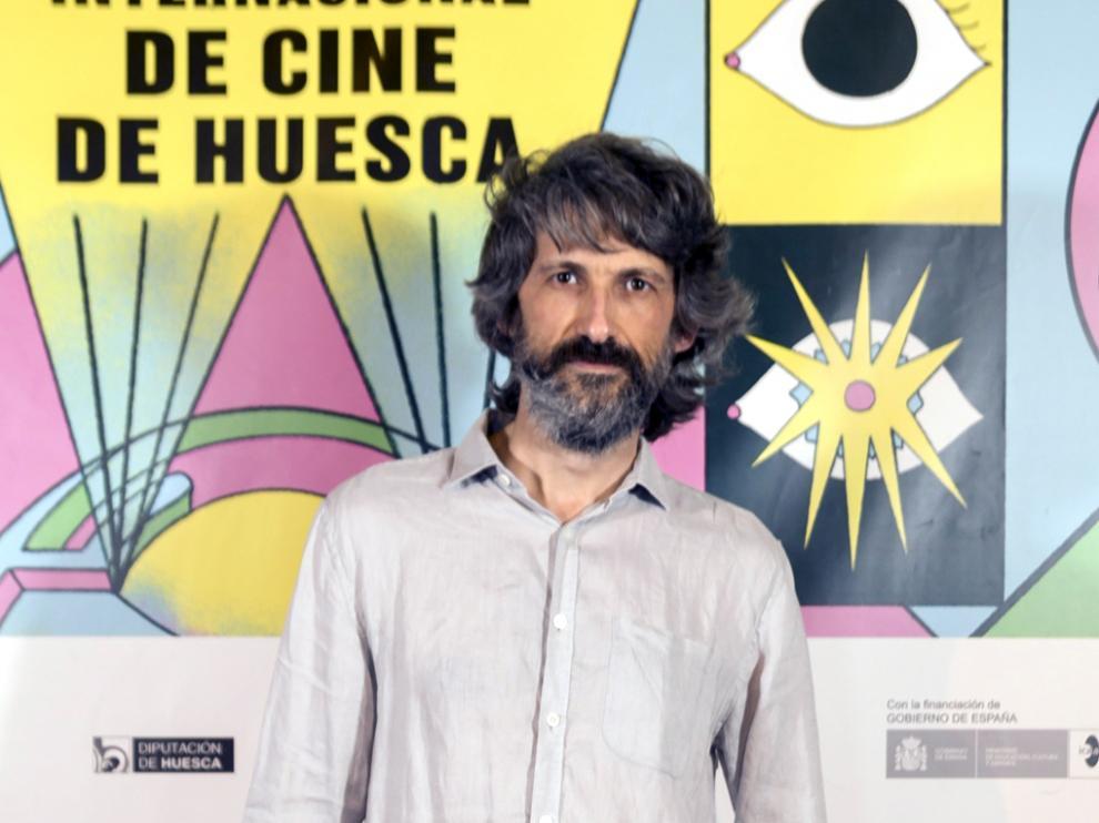Pablo Auladell en Huesca.