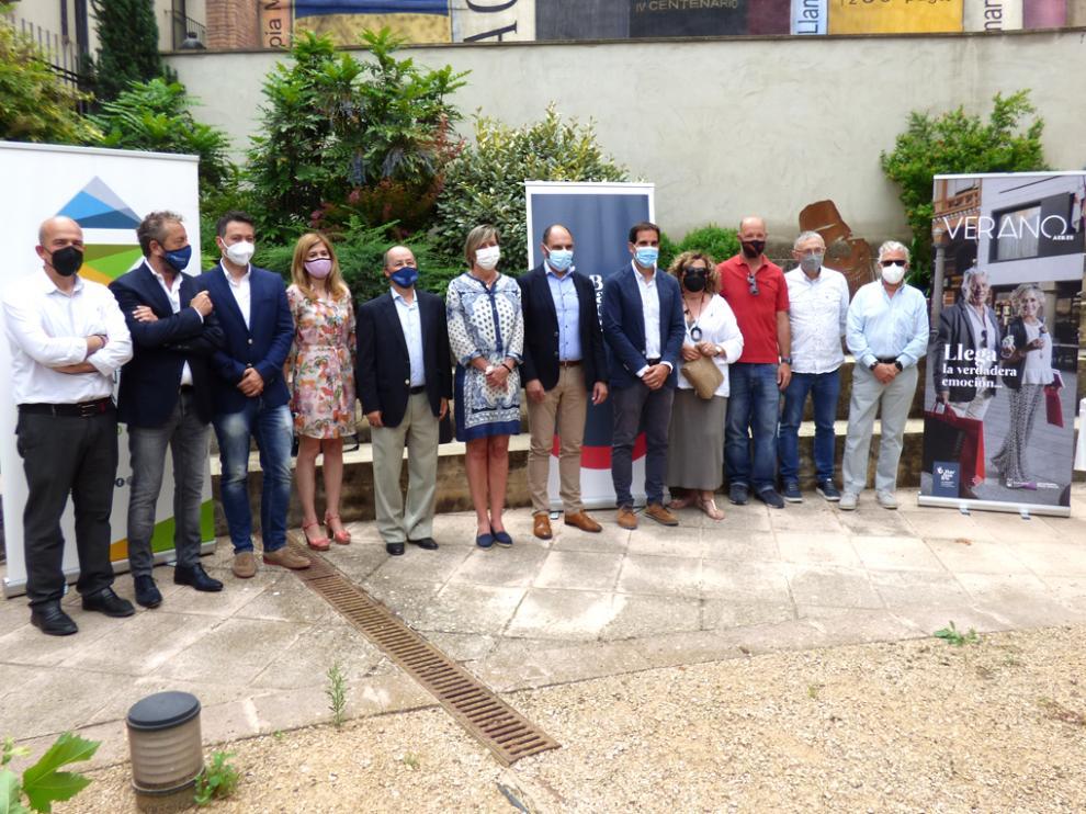 Presentación de la campaña de la Asociación Empresarios Somontano de Barbastro (AESB)