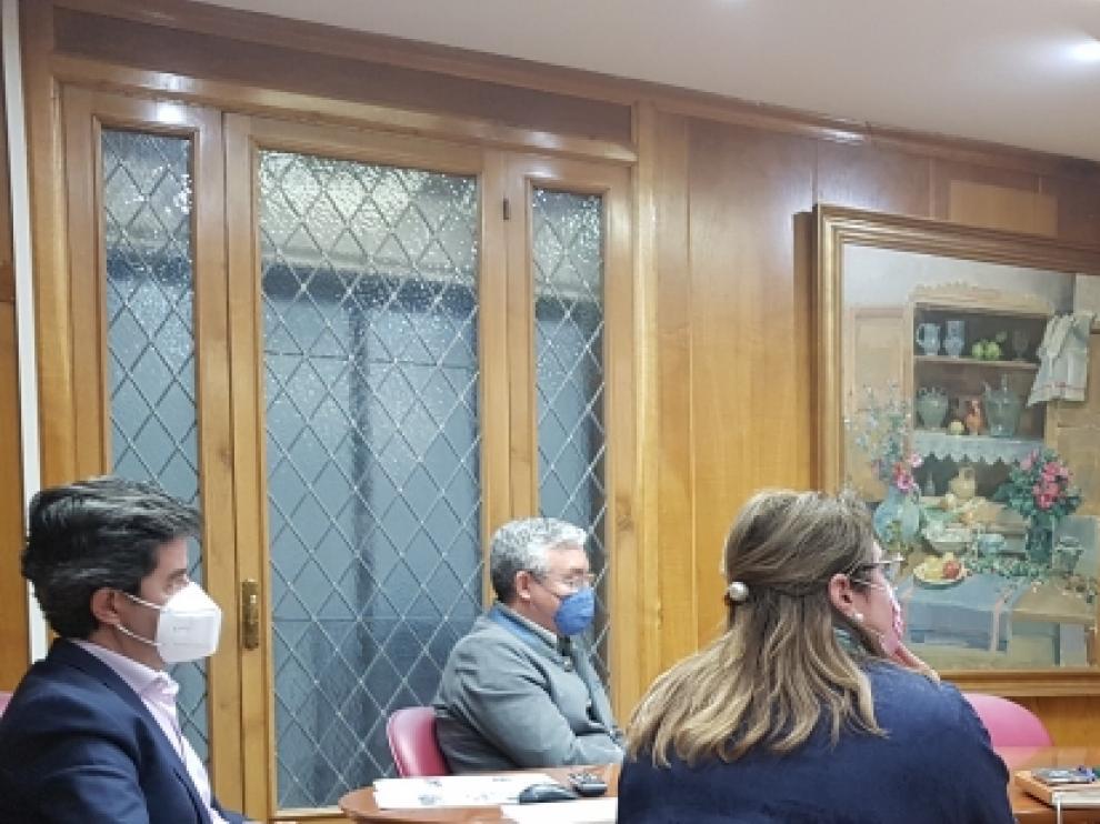 La reunión del Consejo de Niñas y Niños se celebró por videoconferencia.