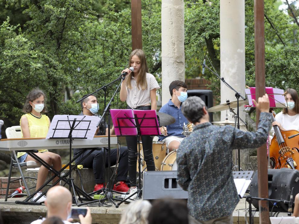 """El Parque Miguel Servet ha acogido el concierto de """"Jazz for kids"""""""