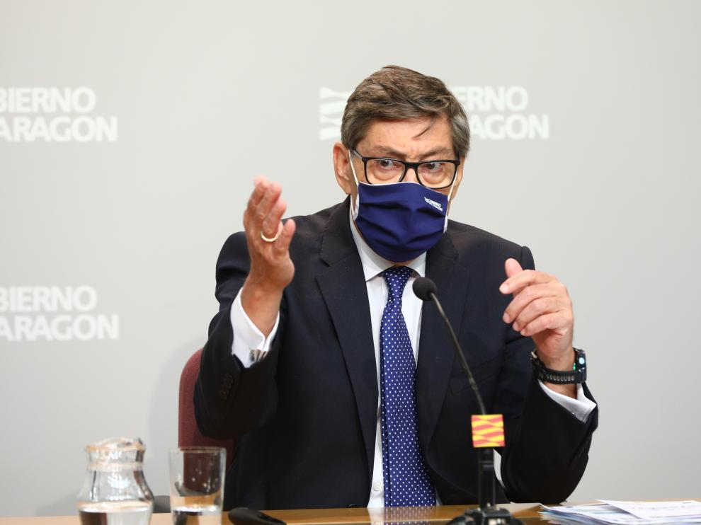 Arturo Aliaga, presidente del Partido Aragonés.