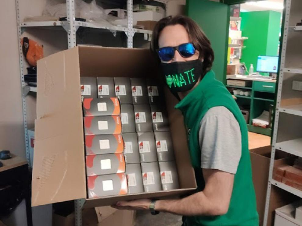 """La tienda oscense de PCBox ha proporcionado el """"cerebro"""" del ordenador a un youtuber con millones de seguidores."""