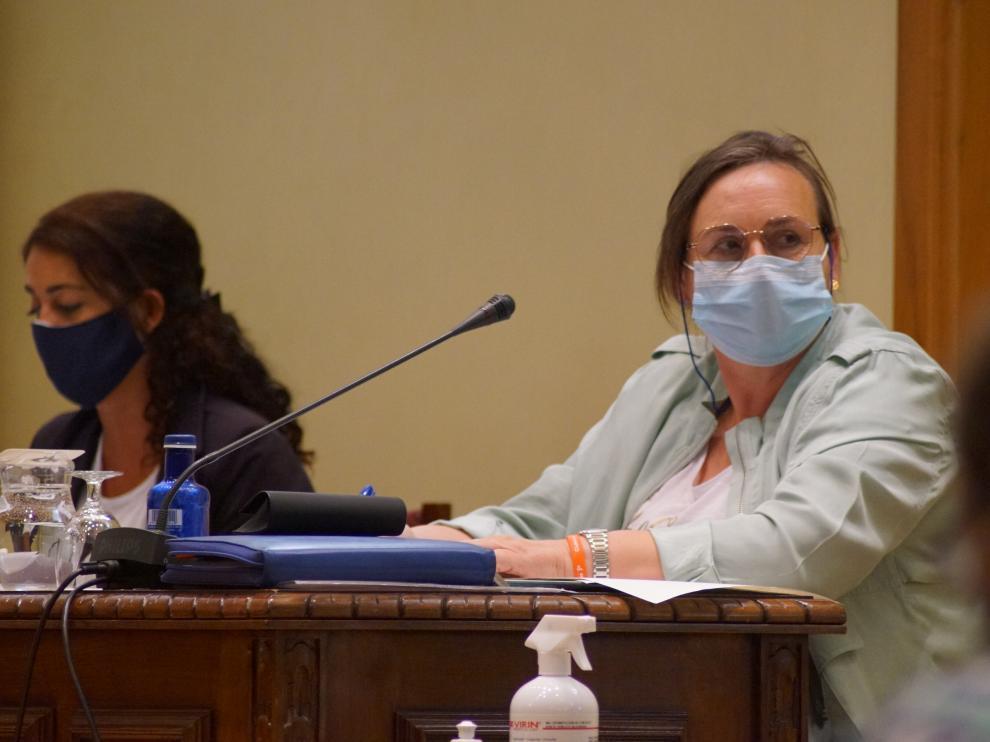 Matilde Campo, portavoz de Cs en Jaca