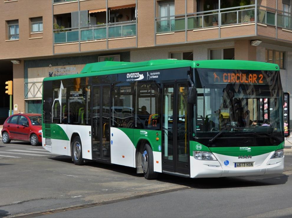 Las líneas C2 y C3 del autobús urbano de Huesca prolongarán su recorrido