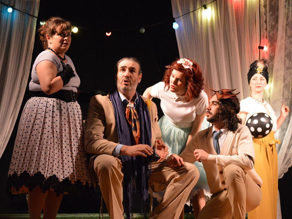Fragmento de la obra 'Mucho ruido y pocas nueces, sound party'. teatro sonna