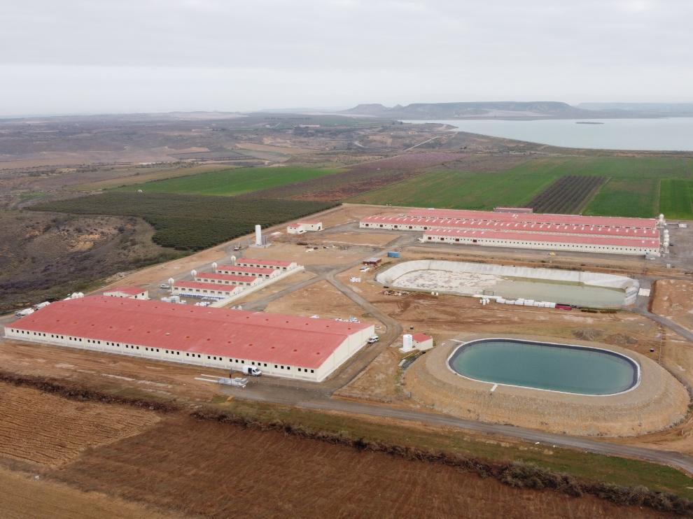 Imagen de una de las construcciones realizadas por la empresa montisonense.