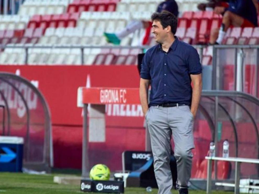 Andoni Iraola, entre los deseos del Huesca