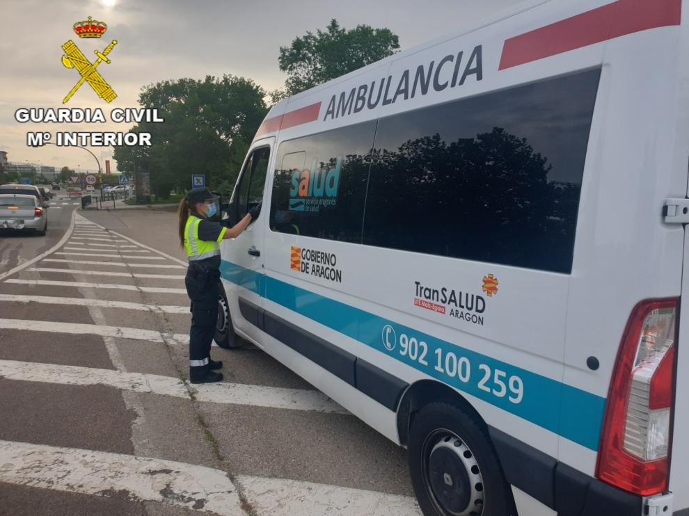 El conductor venía de realizar un servicio desde la localidad de Valbona (Teruel)