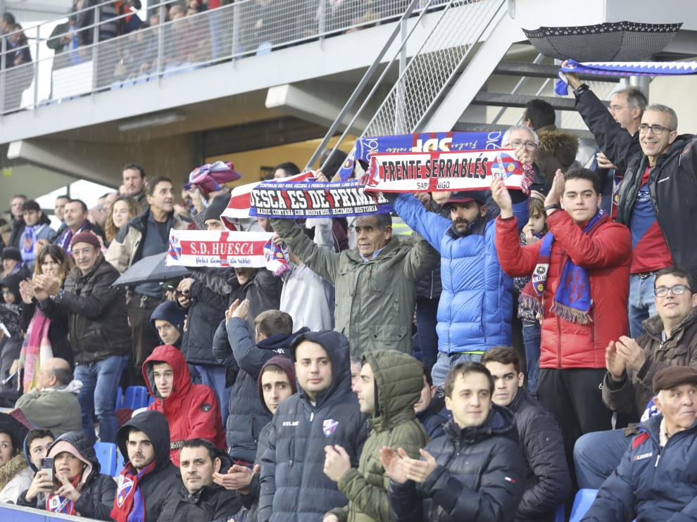 El Huesca espera una gran respuesta de la afición.