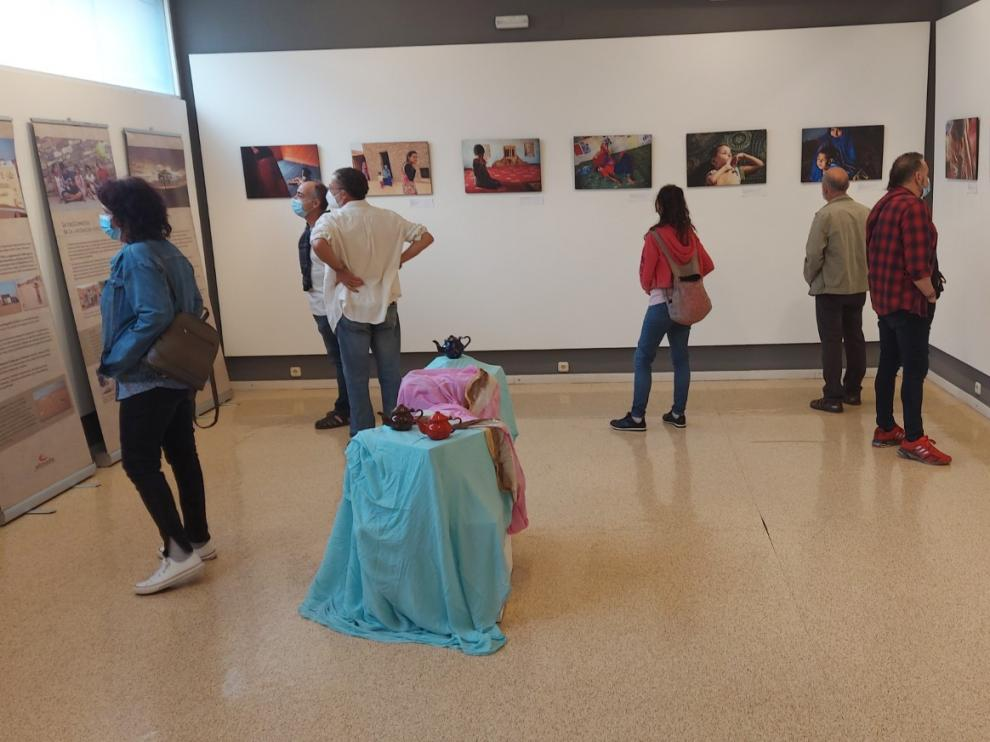 La exposición de Sabiñánigo estará abierta al público hasta el próximo 3 de julio.