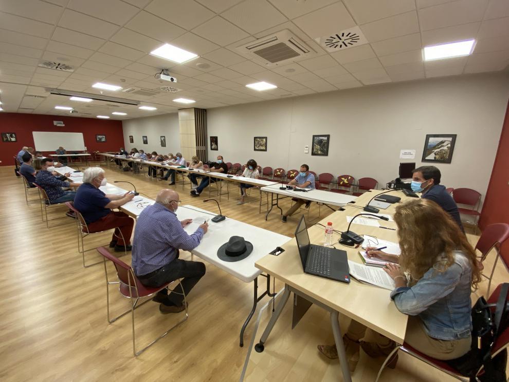 Reunión del Consejo Comarcal de Somontano